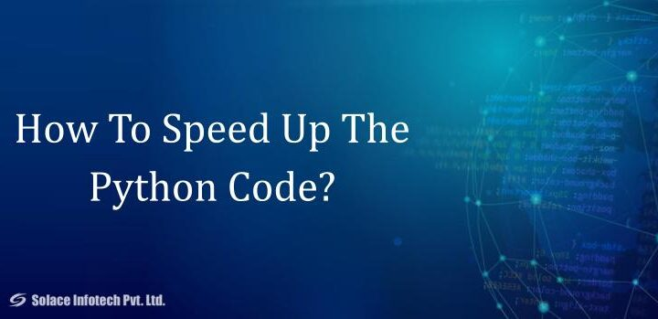 How to speed up the python code
